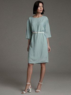 Платье в горох PL1042/open