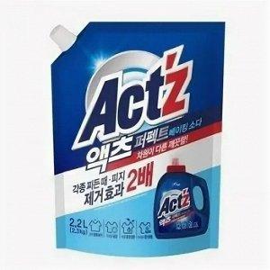 """""""Pigeon"""" """"ACT'Z"""" Концентрированный гель для стирки белья для стиральных машин с вертикальной загрузкой, с горизонтальной загрузкой (Baking soda) м/у 2,2 л 1/6"""