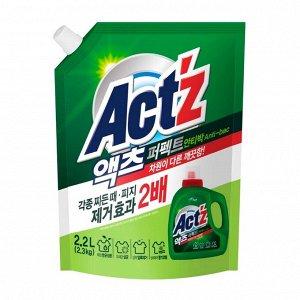 """""""Pigeon"""" """"ACT'Z"""" Концентрированный гель для стирки белья для стиральных машин с вертикальной загрузкой, с горизонтальной загрузкой (Anti bacteria) м/у 2,2 л 1/6"""
