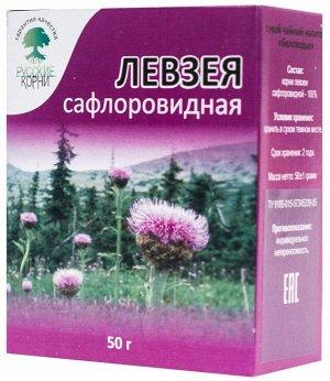 Левзея сафлоровидная (маралий корень), 50 гр.