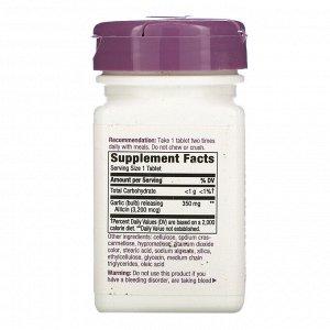 Nature&#x27 - s Way, Garlicin Cardio, 350 mg, 60 Vegan Tablets