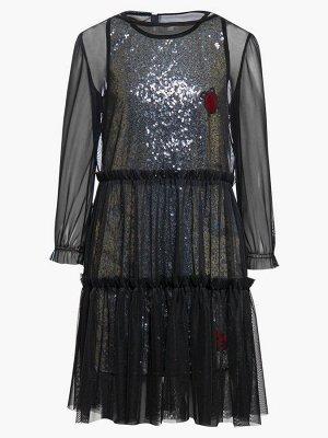 Комплект:из двух платьев