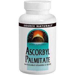 Source Naturals, Аскорбилпальмитат, 500 мг, 90 капсул
