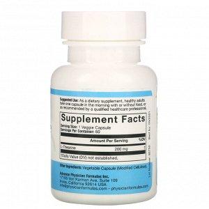 Advance Physician Formulas, L-теанин, 200 мг, 60 капсул