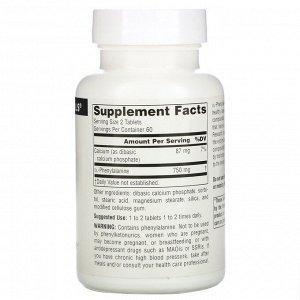 Source Naturals, DLPA, 375 мг, 120 таблеток