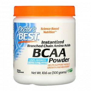Doctor&#x27 - s Best, Аминокислота BCAA в виде растворимого порошка, 300 г