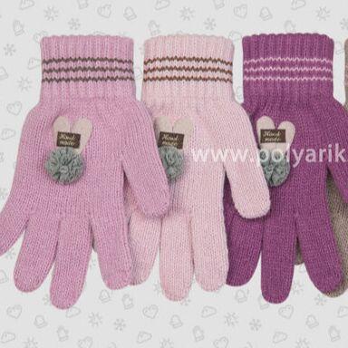 ПОЛЯРИК: Утепляемся Шапочки/Перчатки/Варежки  — 🍁Девочки ВЯЗАННЫЕ ПЕРЧАТКИ — Вязаные перчатки и варежки