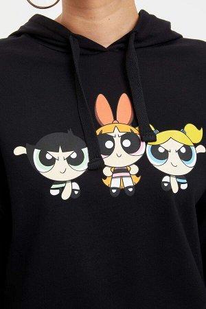 Свитшот PowerPuff girls (CN) с капюшоном
