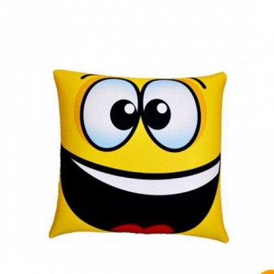 Подушки, Одеяла, Наматрасники, Чехлы на мебель — Декоративные Подушки «Смайлики» — Декоративные подушки