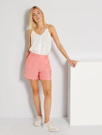 Одежда из Франции для всей семьи! — Женщины. Укороченные брюки, шорты. — Повседневные шорты