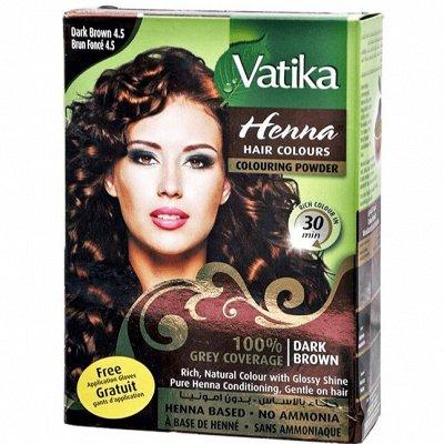 Косметика и краски для волос из Индии.  Бады!         — Краска для волос DABUR VATIKA — Краски
