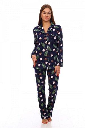 Пижама Ткань: Кулирка; Состав:100% хлопок.