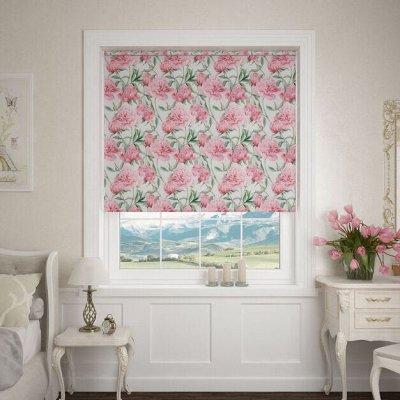 Рулонные и Римские шторы.Огромный выбор расцветок и размеров — Рулонные шторы (ширина 52-57 см) — Шторы