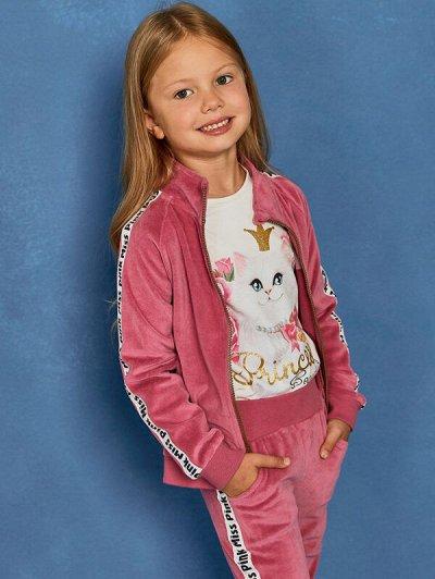 Juno — крутые новинки. Детский трикотаж — Акция. Девочки (98-128) — Блузки, туники