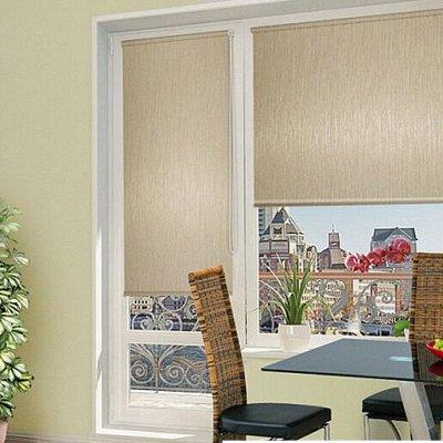Рулонные и Римские шторы.Огромный выбор расцветок и размеров — Рулонные шторы для балконной двери — Шторы