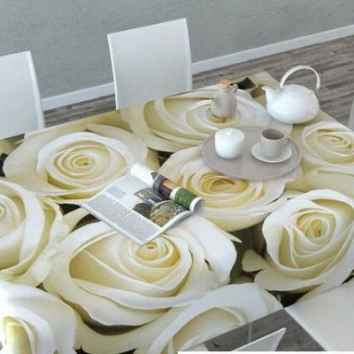 ОГОГО Какой Выбор Домашнего Текстиля — Скатерти 3D — Клеенки и скатерти