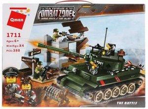 """1711 конструктор """"Армия"""", 380 дет. в коробке."""