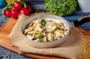 Вареники с картоф. и грибами 0,45кг Савос