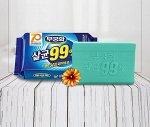 """Стерилизующее хозяйственное мыло """"Laundry soap 99%"""" с повышенными отстирывающими свойствами (кусок 230 гр)"""