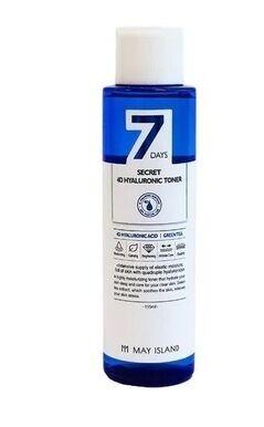 Увлажняющий тонер с гиалуроновой кислотой  7 Days Secret 4D Hyaluronic Toner