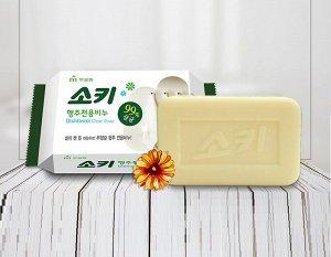 """Мыло для стирки кухонного текстиля и уборки поверхностей """"Dishtowel Clean Soap"""" (кусок 150 гр)"""