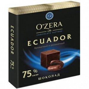 Шоколад OZera Ecuador 75% 90г