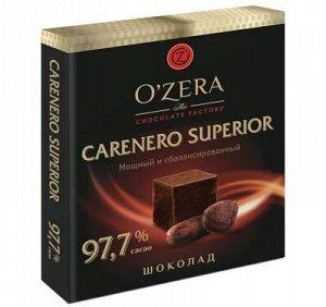 Шоколад OZera Carenero Superior 97,7% 90г