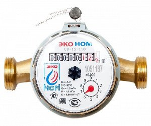 Счетчик д/воды универс. ЭКО НОМ-15-110