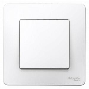 Выключатель 1-кл. 6А, белый, встраив, BLANCA, Schneider Electric
