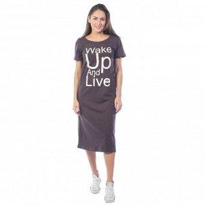 Платье женское  КП1422П2 коричневый