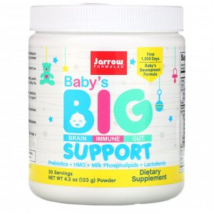 Jarrow Formulas, Baby's Big Support Powder, 4.3 oz (123 g)