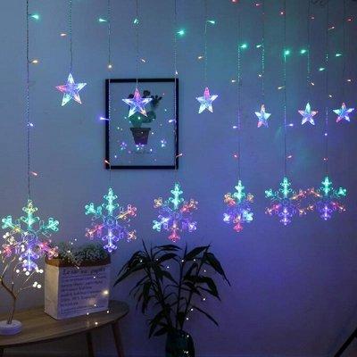 ✨🎄2 Новый год стучится в двери!🎄✨ — Гирлянды к празднику!  — Светильники для дома
