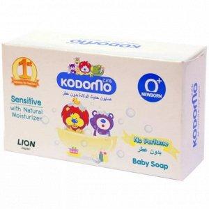 """LION """"Кодомо"""" Мыло детское для новорожденных 75гр, без запаха"""
