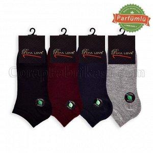 Мужские короткие бамбуковые носки