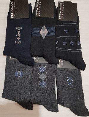 Мужские носки с узором