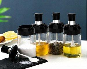 Емкость для масла с кисточкой