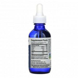 Trace Minerals Research, Ионный магний, 400 мг, 59 мл (2 жидких унции)