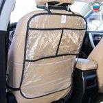 Накидка-незапинайка на спинку автомобильного сиденья, с карманами