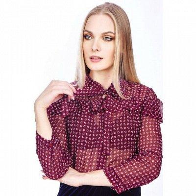 Rise Любимый российский трикотаж🍁 Осенне-зимняя коллекция — Блузки на каждый день — Одежда