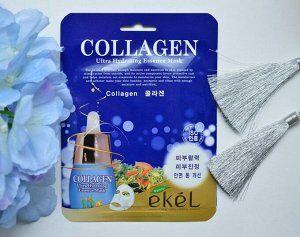 Тканевая маска с коллагеном Ekel Collagen Ultra Hydrating Essense Mask