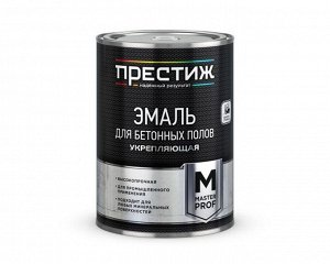 Эмаль акриловая Престиж акриловая для бетонных полов ЧЕРНАЯ 10 кг