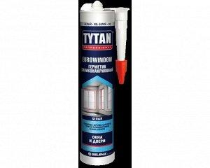 Герметик специальный Tytan Professional EUROWINDOW силиконакриловый окна и двери белый 280 мл