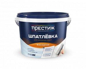 Шпатлевка Престиж акриловая фасадная 3 кг (4/уп)