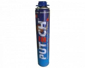 Проф. пеногерметик PU-Tech PUTECH 750 мл (16/уп) всесезон.