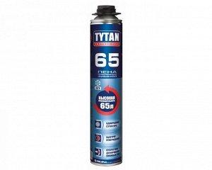 Проф. пеногерметик Tytan TYTAN 65L ЗИМА (t до -20) (750мл)(12/уп)