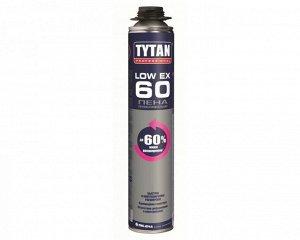 Проф. пеногерметик Tytan Tytan Professional LowEx 60 пена профессиональная 750 мл