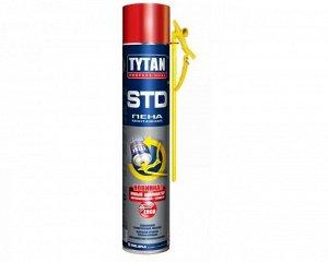 Пеногерметик Tytan Tytan Professional STD пена монтажная с трубкой-аппликатором ЭРГО 750 мл