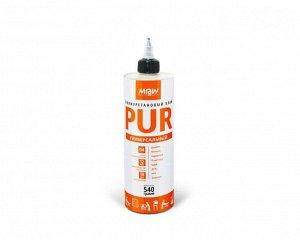 """Клей полиуритановый """"ManAtWork"""" PUR для дерева и пористых материалов (1/12) ft 540 гр"""
