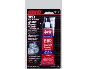 Герметик специальный ABRO для прокладок красный 11АВ (85 г) 12шт/уп