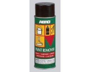 Смывка для старой краски ABRO для всех видов красок (аэрозоль)